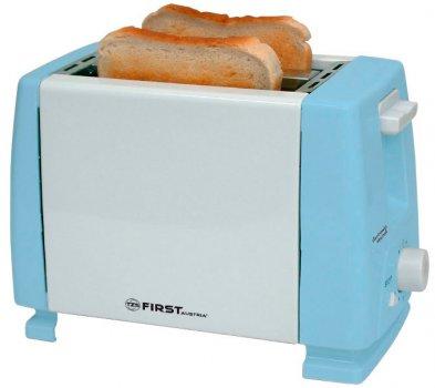 Тостер FIRST FA-5366 білий/блакитний