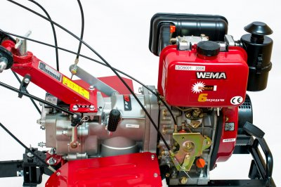 Мотоблок WEIMA WM1100A-6 +разблокиратор полуосей