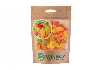 Цукати мікс Winway кубики 100 г (4821912900235)
