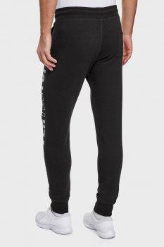 Мужские черные спортивные штаны Oodji 5L200100I-2/48820N/2910P
