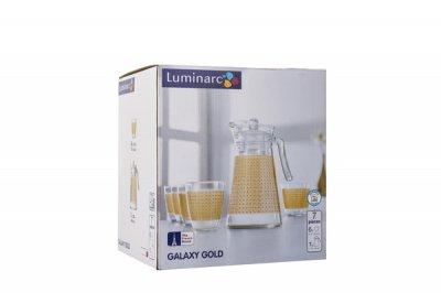 Набір для напоїв Luminarc Neo Galaxy Gold із 7 предметів (N0793)