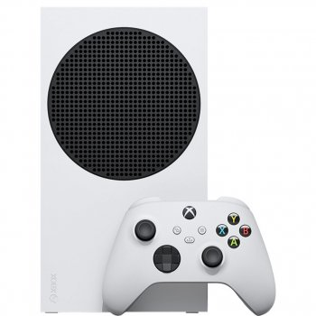 Стационарная игровая приставка Microsoft Xbox Series S 512GB (White) + FIFA 21 Champions Edition [52556]