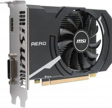 MSI PCI-Ex GeForce GT 1030 Aero ITX OC 2GB GDDR5 (64bit) (1265/6008) (DVI, HDMI) (GT 1030 AERO ITX 2G OCV1)