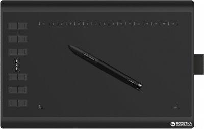 Графічний планшет Huion New 1060Plus з рукавичкою