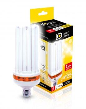 Енергозберігаюча лампа Light Offer Т5 8U ЕSL 200W E40 5000К 11500Lm (ЕSL - 200 - 033)