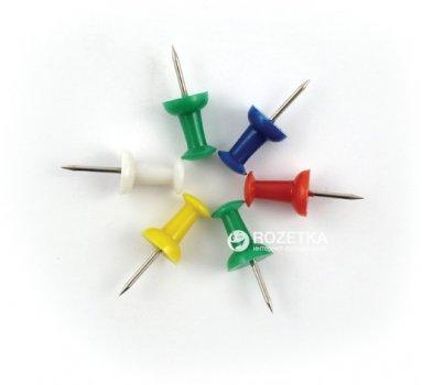 Доска пробковая Axent 60 х 90 см + 6 кнопок-гвоздиков (9602-A)