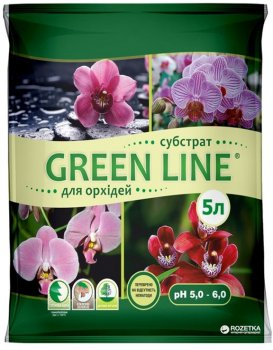 Субстрат Green Line для орхідей 5 л (2017112407)
