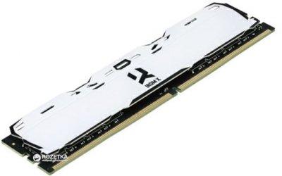 Оперативна пам'ять Goodram DDR4-3000 8192MB PC4-24000 IRDM X White (IR-XW3000D464L16S/8G)