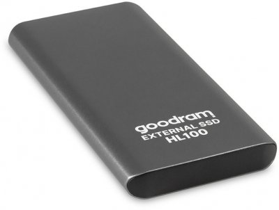Goodram HL100 256GB USB 3.2 Type-C TLC Black (SSDPR-HL100-256) External
