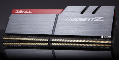 Оперативная память G.Skill DDR4-3200 16384MB PC4-25600 (Kit of 2x8192) Trident Z (F4-3200C16D-16GTZB)