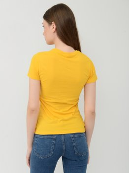 Футболка Sol's Regent Women 01825301 Желтая