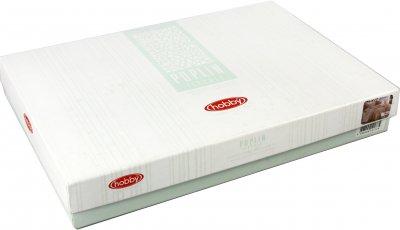 Комплект постільної білизни Hobby Poplin Love 160x220 см (8698499130647)