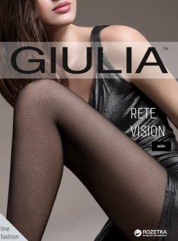 Колготки Giulia Rete Vision 01 40 Den Nero