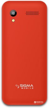 Мобільний телефон Sigma mobile X-Style 31 Power Red