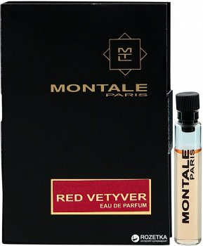 Пробник Туалетная вода для мужчин Montale Red Vetyver 2 мл (ROZ6205052527)