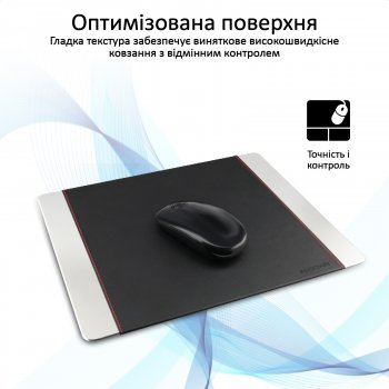 Коврик для мыши Promate MetaPad-Pro Silver (metapad-pro.silver)