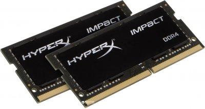 Оперативна пам'ять HyperX SODIMM DDR4-2933 16384 MB PC4-23500 (Kit of 2x8192) Impact (HX429S17IB2K2/16)
