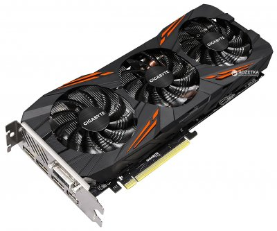 Gigabyte PCI-Ex GeForce GTX 1070 Ti Gaming 8192MB GDDR5 (256bit) (1607/8008) (DVI, HDMI, 3 x Display Port) (GV-N107TGAMING-8GD)