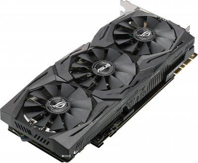 Asus PCI-Ex GeForce GTX 1080 Ti ROG Strix OC 11GB GDDR5X (352bit) (1569/11010) (DVI, 2 x HDMI, 2 x DisplayPort) (ROG-STRIX-GTX1080TI-O11G)