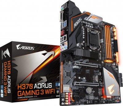 Материнська плата Gigabyte H370 Aorus Gaming 3 Wi-Fi (s1151, Intel H370, PCI-Ex16)