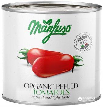 Томаты очищенные целые Manfuso органические 2.5 кг (8012462002081/8012462000025)