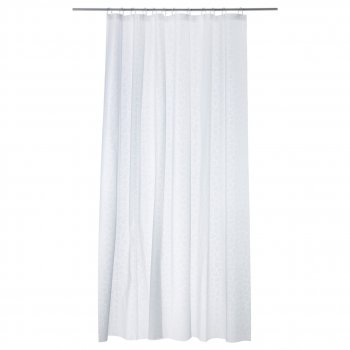 Шторка для ванної IKEA INNAREN 180x200 см білий 502.952.69