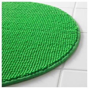 Килимок для ванної IKEA BADAREN зелений 703.069.45