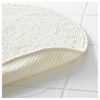 Килимок для ванної IKEA BADAREN білий 903.116.15