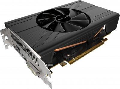 Sapphire PCI-Ex Radeon RX 570 Pulse ITX 4GB GDDR5 (256bit) (1244/6000) (DVI, HDMI, DisplayPort) (11266-34)