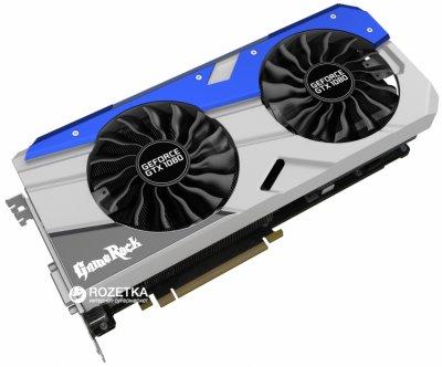 Palit PCI-Ex GeForce GTX 1080 GameRock 8GB GDDR5X (256bit) (1645/10000) (DVI, HDMI, 3 x DisplayPort) (NEB1080T15P2-1040G)