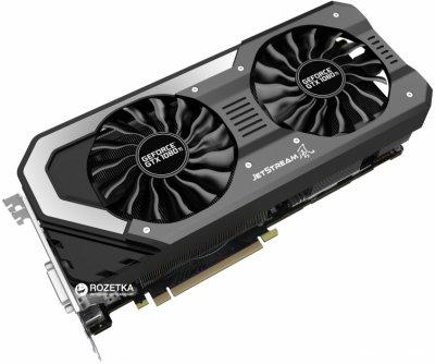 Palit PCI-Ex GeForce GTX 1080 Ti Super JetStream 11GB GDDR5X (352bit) (1531/11000) (DVI, HDMI, 3 x DisplayPort) (NEB108TS15LC-1020J)