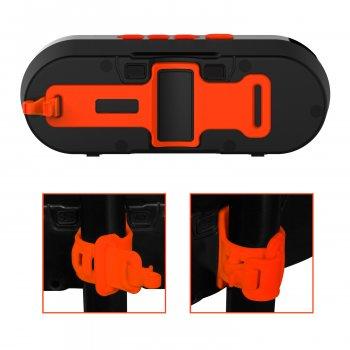 Велосипедная беспроводная Bluetooth колонка Jabees beatBOX BI Orange (NA0009)