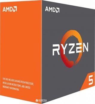 Процесор AMD Ryzen 5 1400 3.2 GHz/8MB (YD1400BBAEBOX) sAM4 BOX