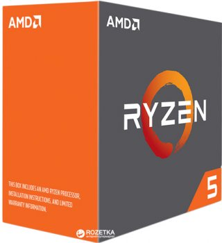 Процесор AMD Ryzen 5 1600X 3.6 GHz/16MB (YD160XBCAEWOF) sAM4 BOX