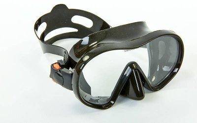 Набор для плавания маска с трубкой Zelart M105-SN132-SIL черный