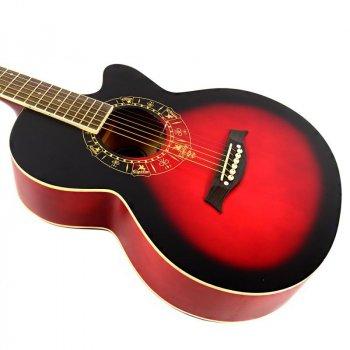Гитара акустическая Equites EQ600C RDS 38
