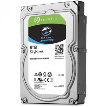 HDD SATA 6.0 TB Seagate SkyHawk Surveillance 256GB (ST6000VX001)