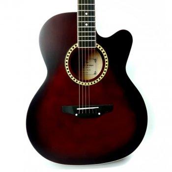 Акустическая гитара Avzhezh ZG-101 Cherry