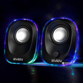 Акустична система Sven 330 Black