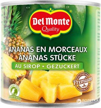 Ананас кусочками Del Monte в сиропе 435 г (0024000015970)