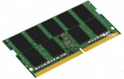 Оперативна пам'ять Kingston SODIMM DDR4-2400 4096MB PC4-19200 (KCP424SS6/4)
