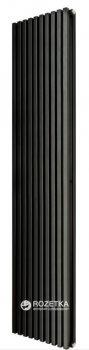 Радиатор трубный BETATHERM Quantum 1800x405x79 мм вертикальный Ral 9005M