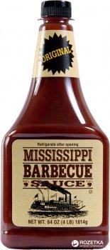 Соус барбекю Mississippi BBQ Оригинальный, Нейтральный вкус 1814 г (0743639000057)