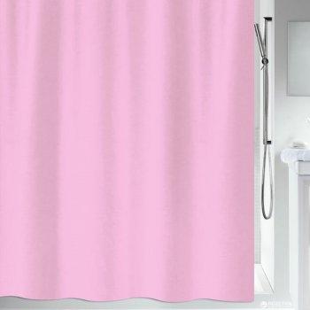 Шторка для ванної Spirella Primo 180x200 Polyester Рожева (10.20139)