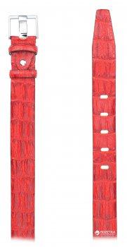 Женский ремень кожаный Sergio Torri 4-063 120 см Красный (2000000010045-1)