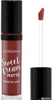 Матовий крем для губ Jordana Sweet Cream Matte Liquid Lip Color Molten Chocolate Cake Mlc-21 3 г (041065528214)