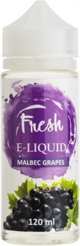 Рідина для електронних сигарет Fresh Malbec Grapes (Виноград)