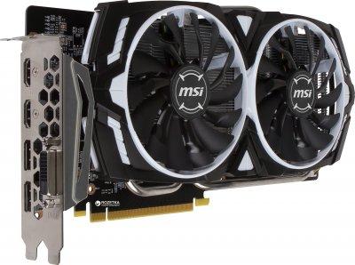 MSI PCI-Ex GeForce GTX 1060 Armor OCV1 3GB GDDR5 (192bit) (1544/8008) (DVI, 2 x HDMI, 2 x DisplayPort) (GTX 1060 GAMING X)
