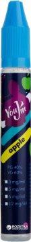 Рідина для електронних сигарет YouJin Apple 15 мл (Яблуко)