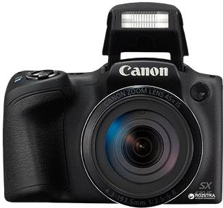 Фотоапарат Canon PowerShot SX430 IS Black (1790C011AA) Офіційна гарантія!